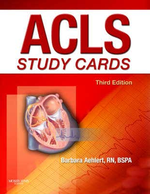 Acls Study Cards, 3rd Edition