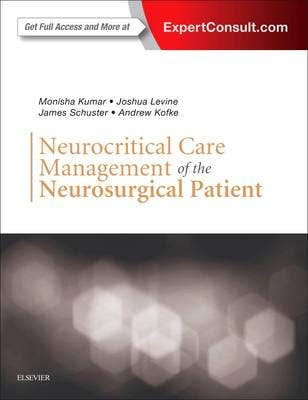 Verschenen! Neurocritical Care Management of the Neurosurgical Patient