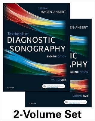 Textbook of Diagnostic Sonography, 2-Volume Set, 8th revised edition