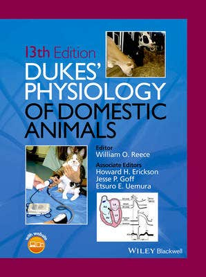 Dukes' Physiology of Domestic Animals, 13th revised edition