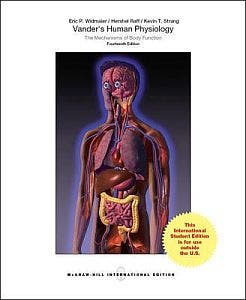 Vander's Human Physiology, 14th revised edition